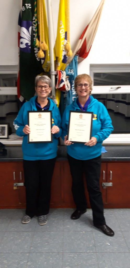Chief Scout Commendation and Woodbeads
