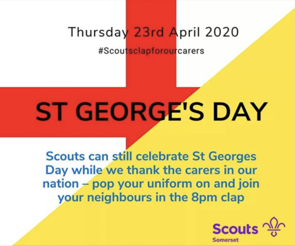 Show Your Support on St George's Day